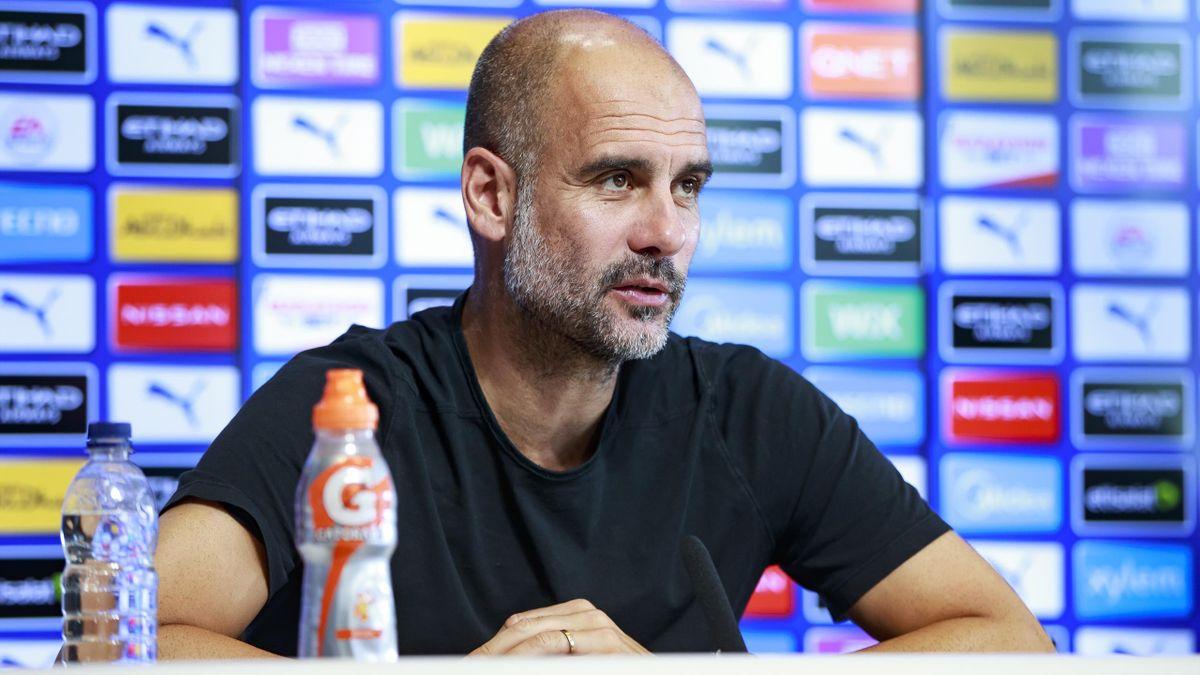Pep Guardiola is entering his fifth season as Man City boss
