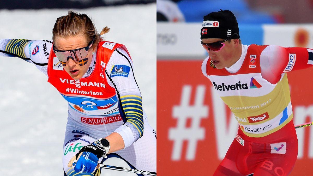 Stina Nilsson and Johannes Klaebo