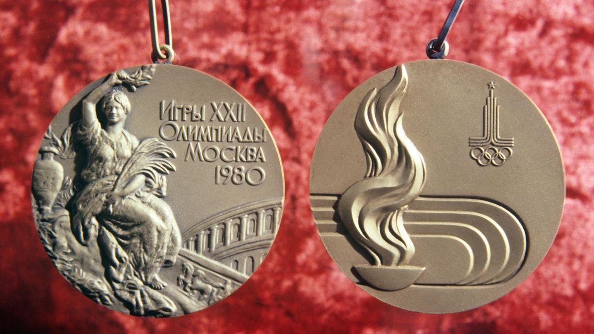 Золотые медали Олимпийских игр-1980 в Москве