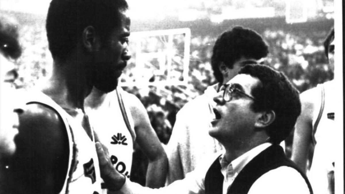 Valerio Bianchini, Larry Wright, Virtus Roma 1984