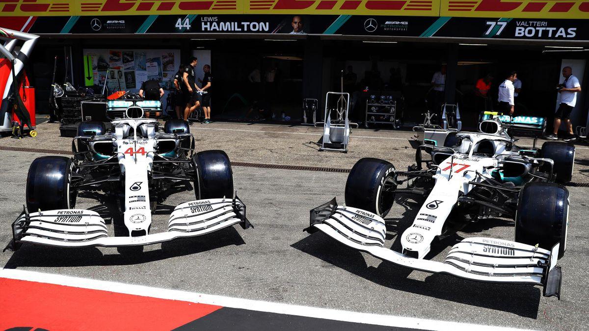 Deutschland-GP - Mercedes - Lewis Hamilton - Valtteri Bottas