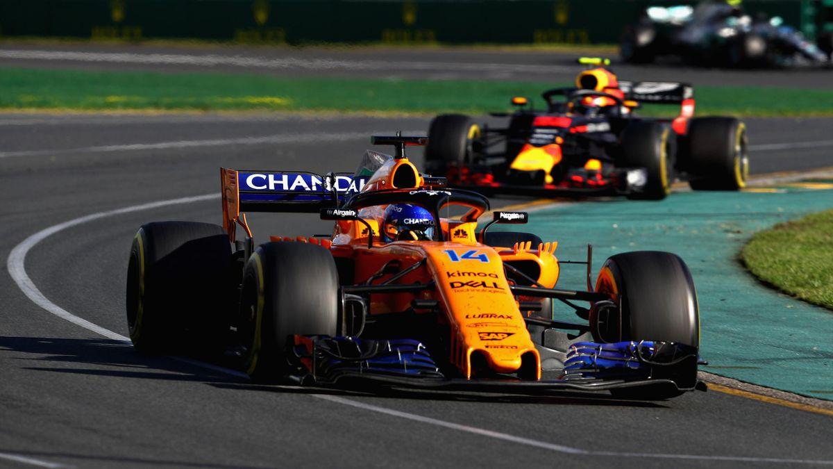 Fernando Alonso (McLaren-Renault) - Gran Premio de Australia