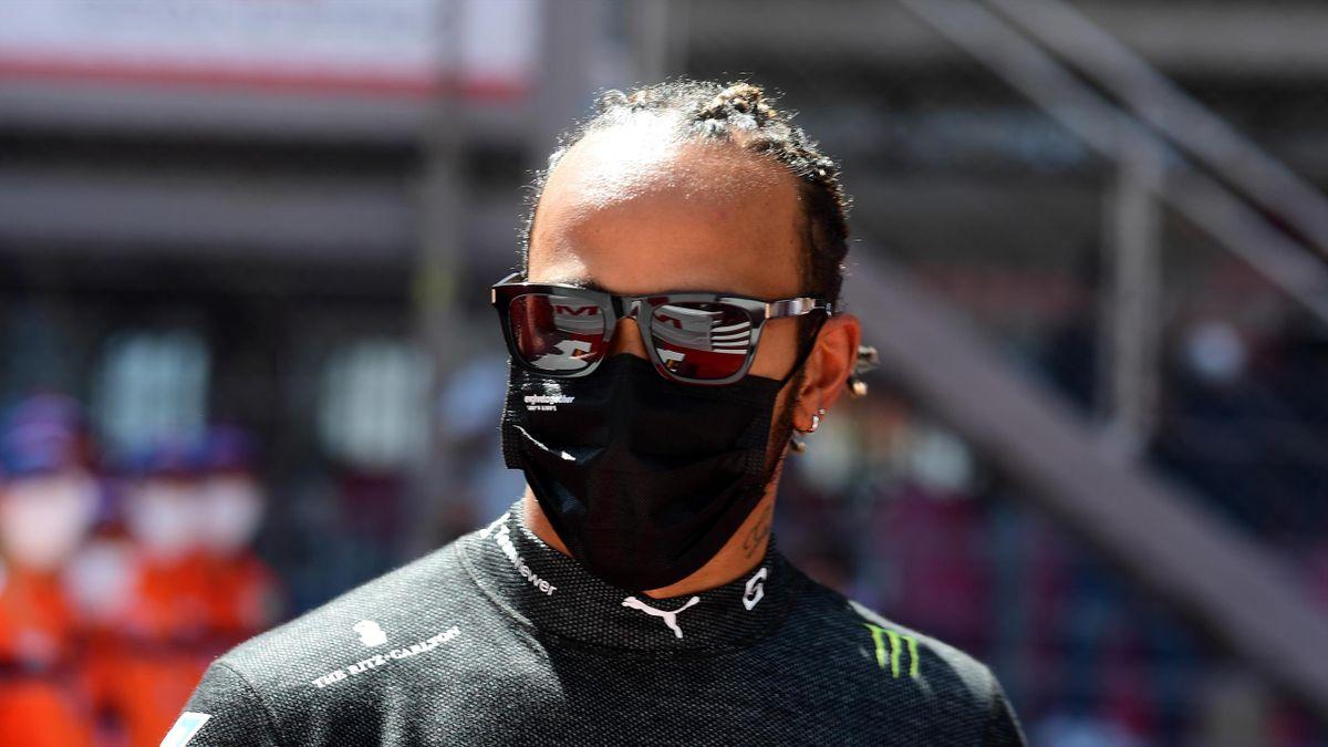 Lewis Hamilton (Mercedes) war nach dem Rennen in Monaco angefressen