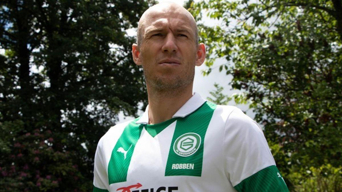 FC Groningen   Arjen Robben