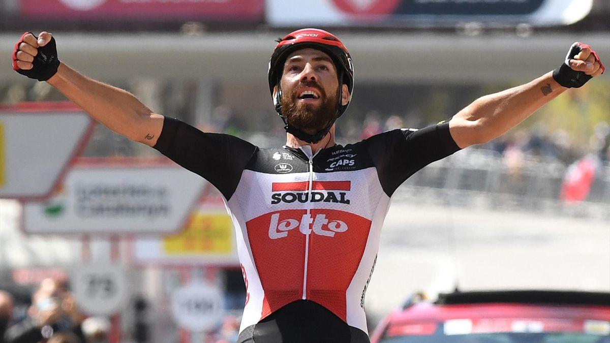 'Fabulous victory' - De Gendt wins Stage 7 at Volta a Catalunya