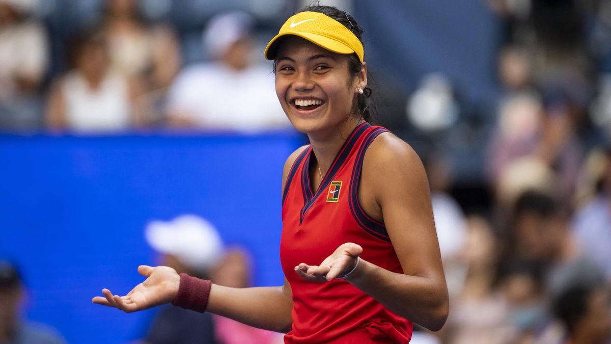 Emma Raducanu este în sferturi la US Open 2021
