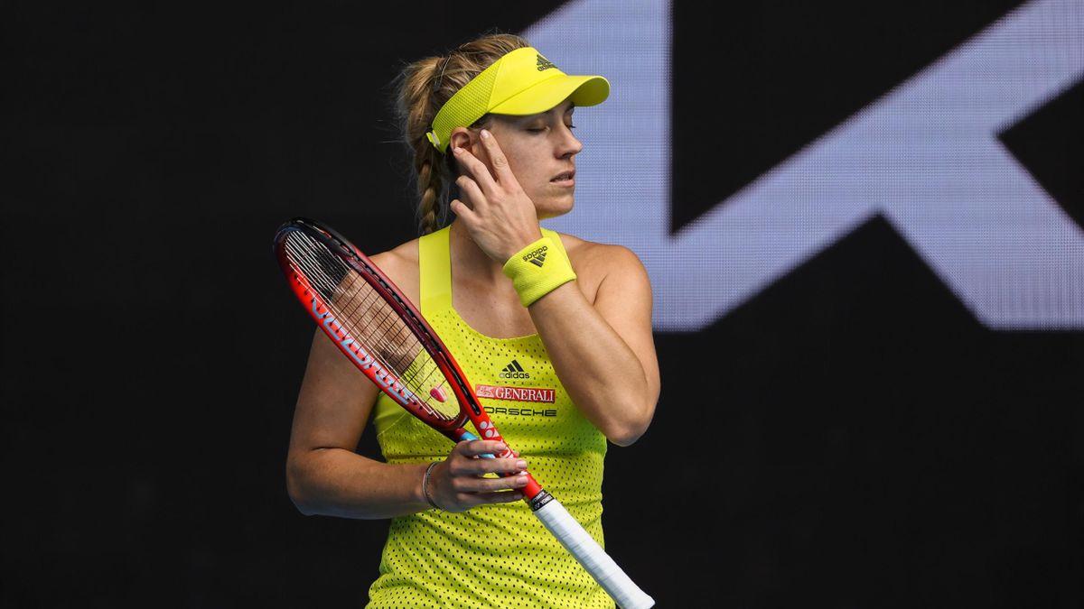 Angelique Kerber bei den Australian Open 2021