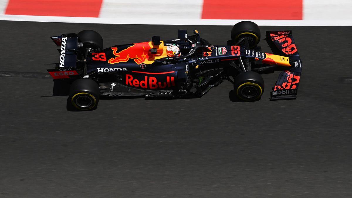 Max Verstappen (Red Bull) - Baku GP 1. Freies Training