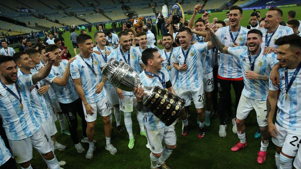 Лионель Месси и сборная Аргентины