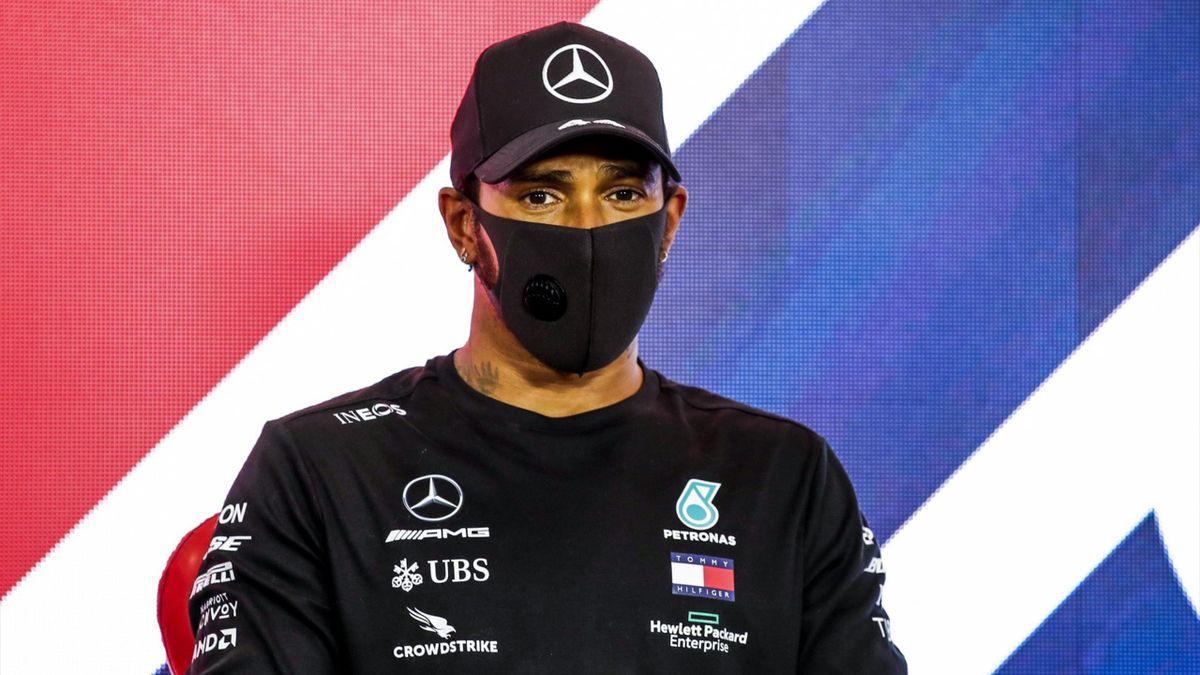 Lewis Hamilton (Mercedes) au Grand Prix de Grande-Bretagne 2020