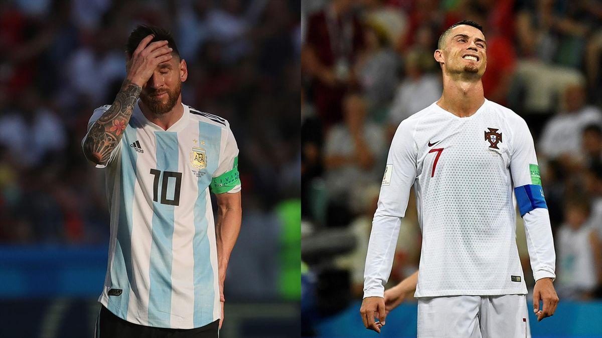Lionel Messi și Cristiano Ronaldo