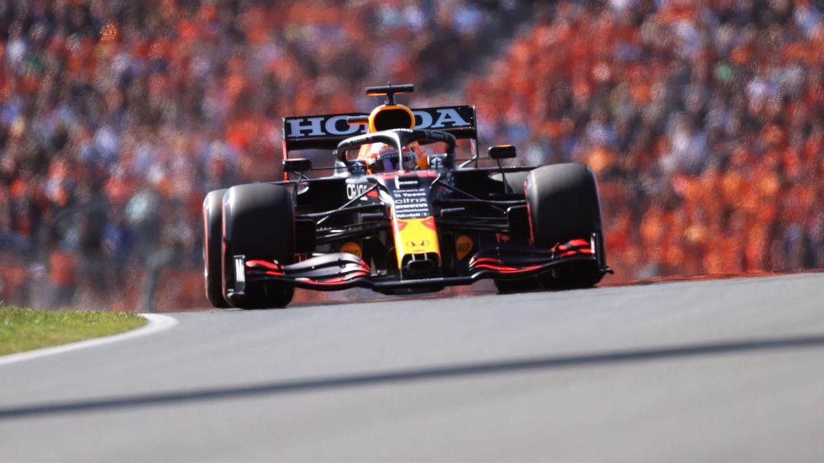 Max Verstappen (Red Bull) in Zandvoort