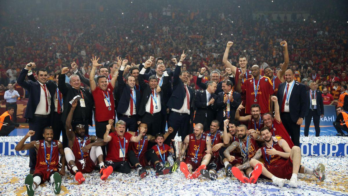 Eurocup şampiyonu Galatasaray Odeabank