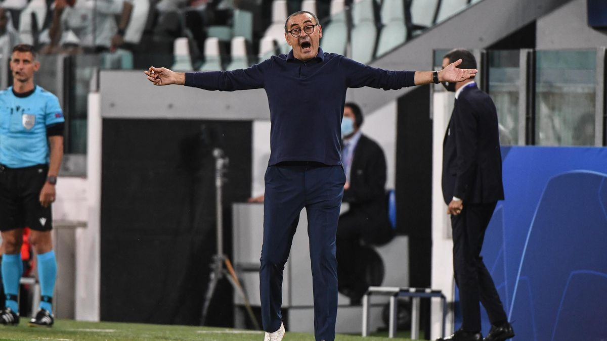Maurizio Sarri, demis de Juventus