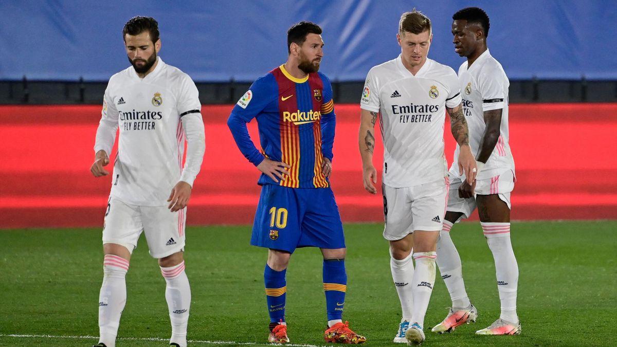 Лионель Месси и Тони Кроос, «Реал Мадрид» – «Барселона»