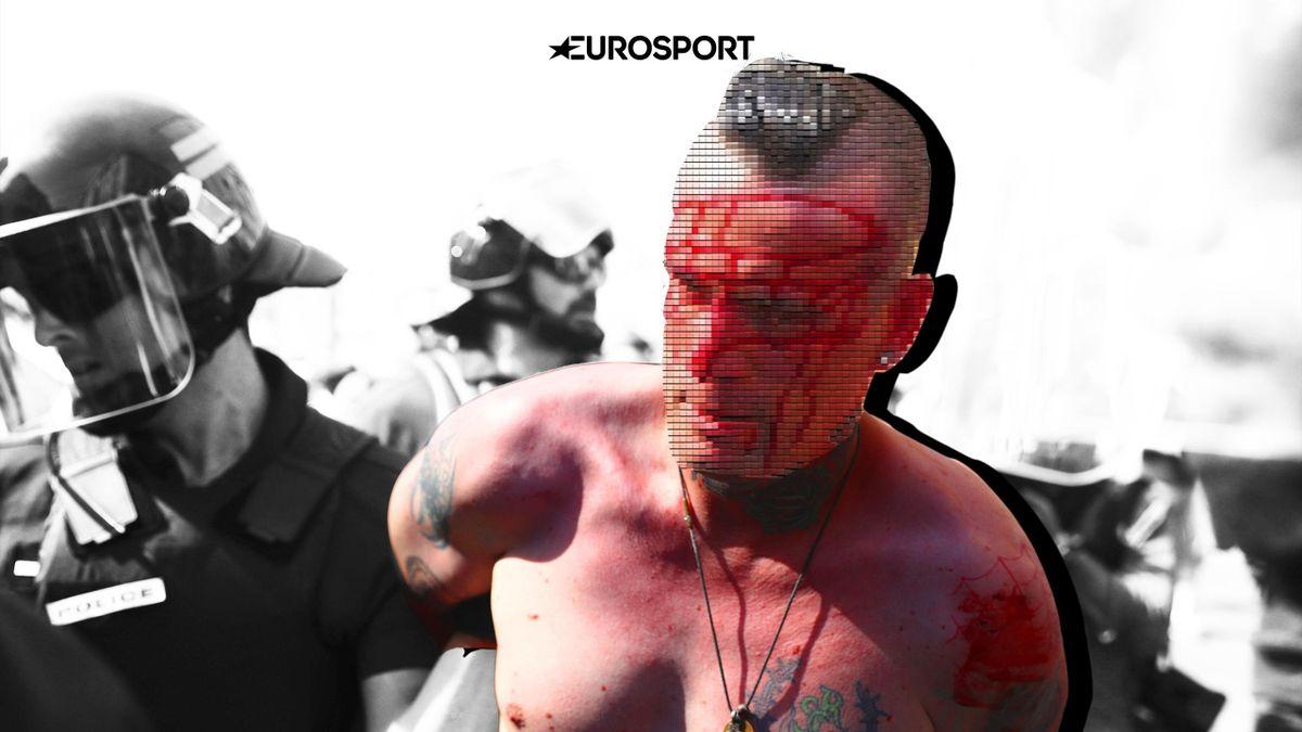 Фанат, арестованный во время Евро-2016