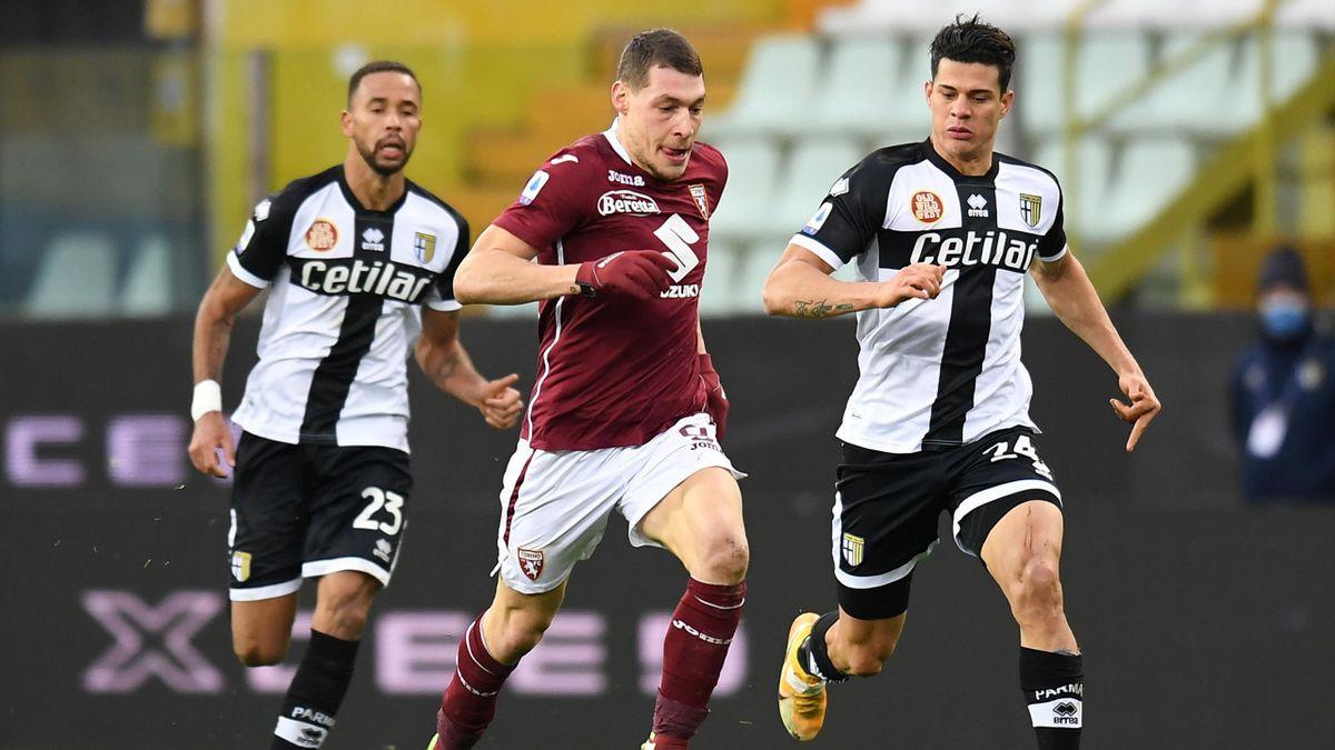Andrea Belotti, Parma-Torino, Serie A 2020-21, Getty Images