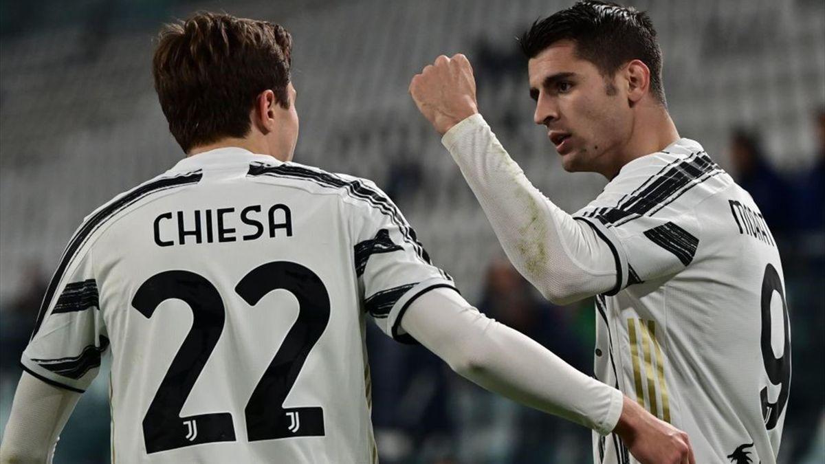 Serie A Le pagelle di Juventus-Lazio 3-1: Morata e Chiesa stellari,  Kulusevski stecca - Eurosport