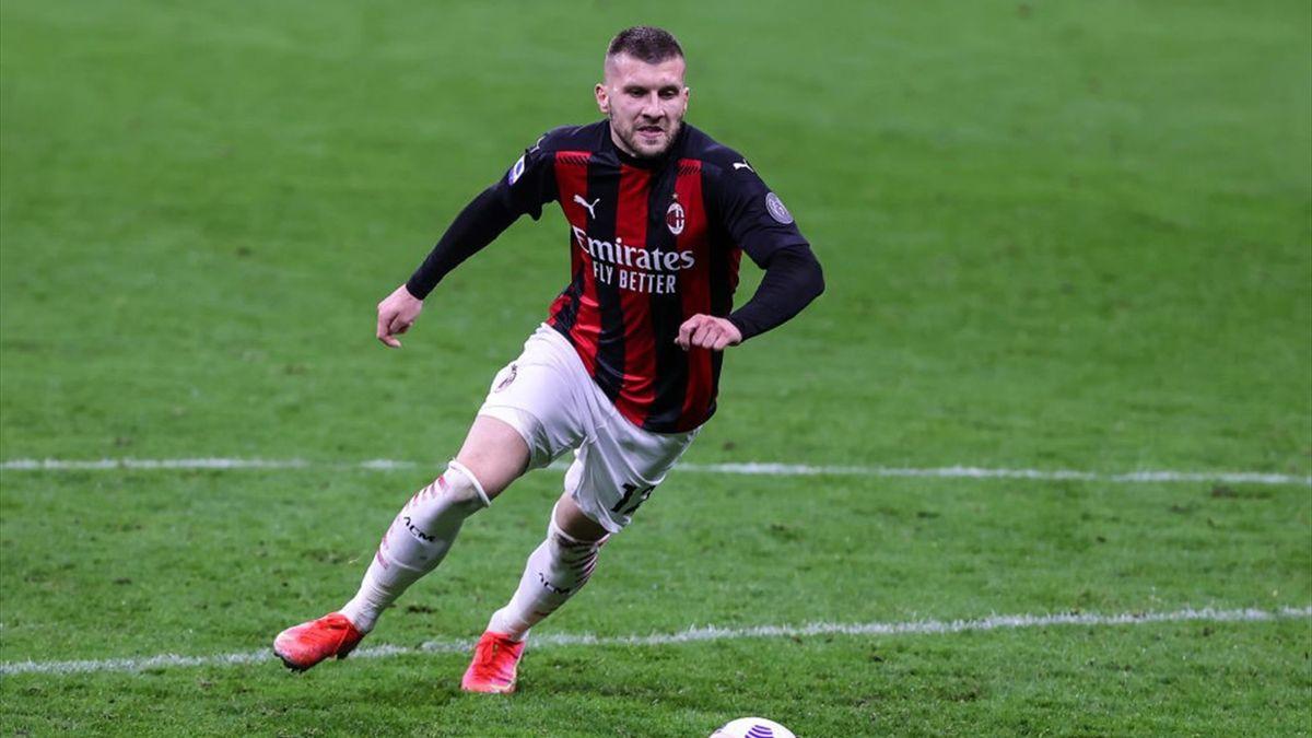 Ante Rebic con la maglia del Milan - Stagione 2020-21