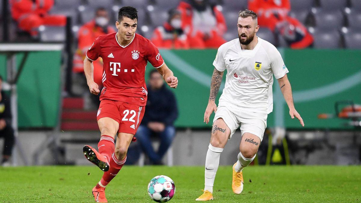 Düren gegen den FC Bayern München