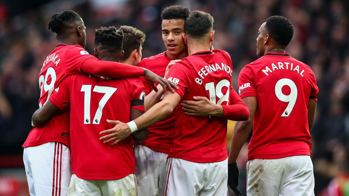 Jubel bei Manchester United
