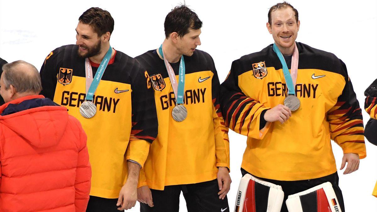 Olympia 2018: Deutschland gewinnt Silber im Eishockey