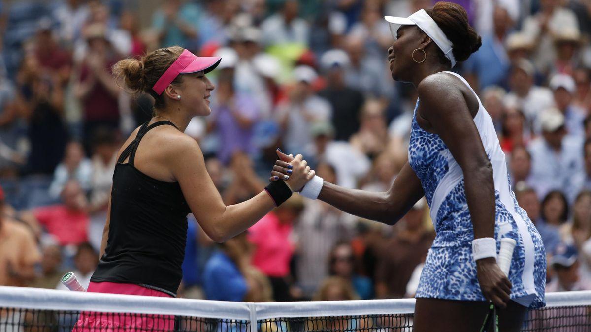 Belinda Benci and Venus Williams - US Open 2015