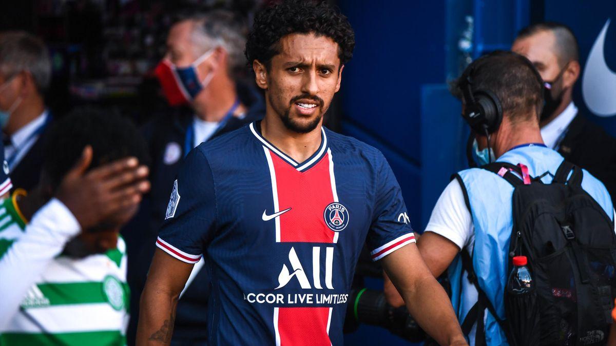 Marquinhos est le nouveau capitaine du PSG.