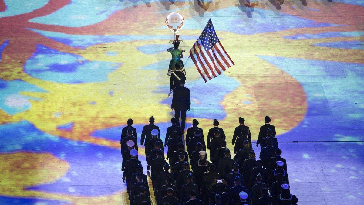 Американская делегация на Военных играх