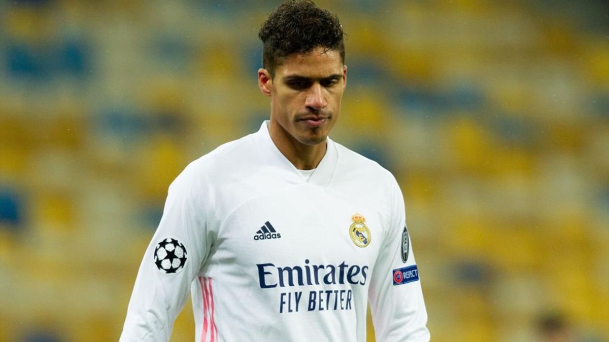 Raphael Varane, Shakhtar-Real Madrid, Champions League