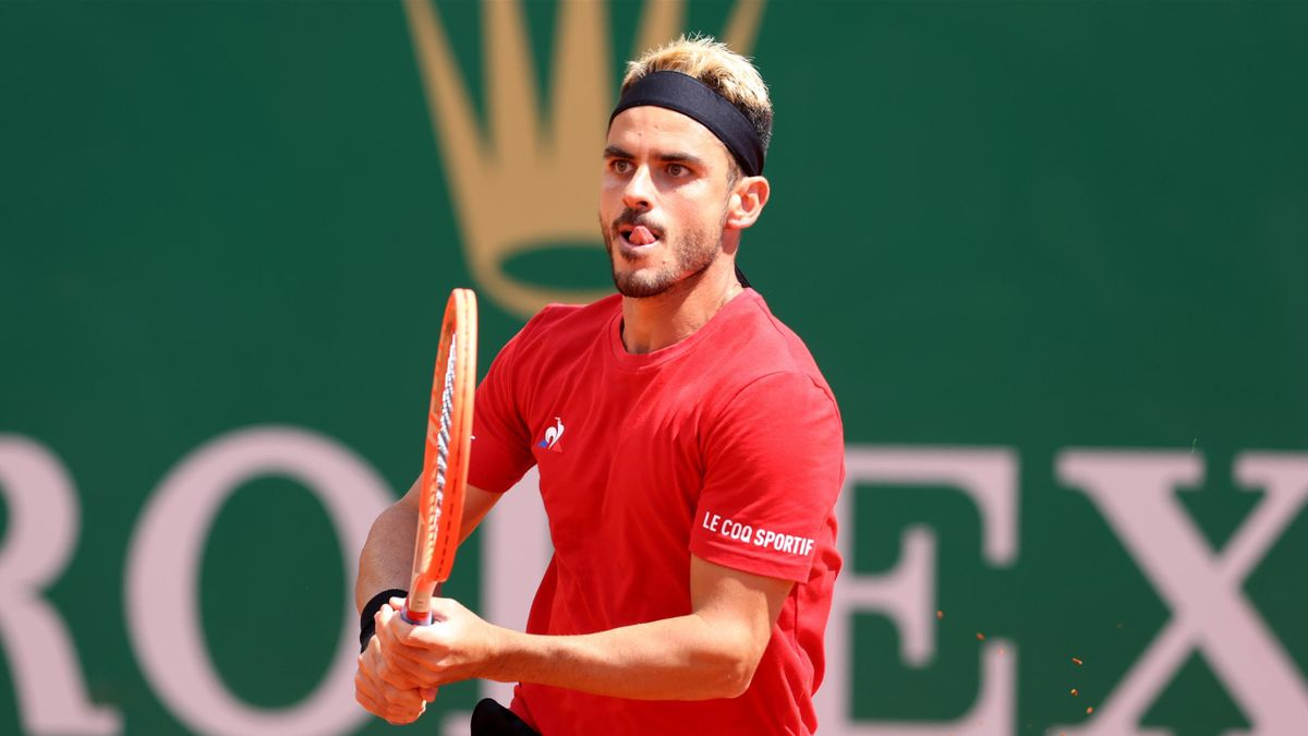 Thomas Fabbiano al torneo di Monte Carlo 2021