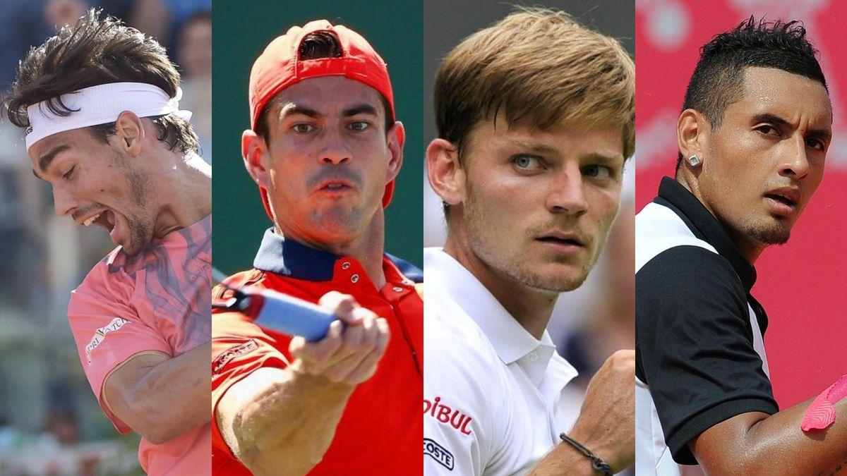Fognini, Garcia-Lopez, Goffin, Kyrgios, outsiders à Roland-Garros