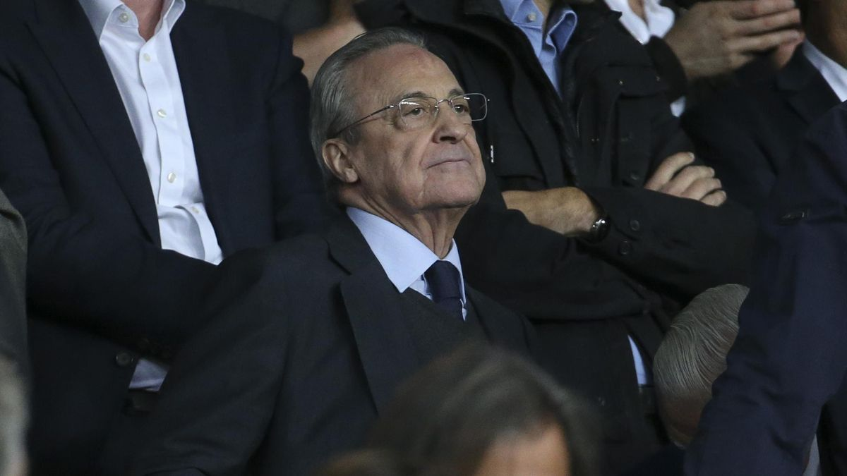 Florentino Perez, président du Real Madrid