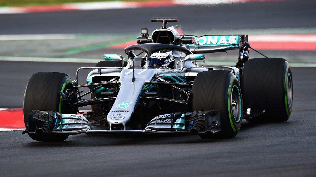 Valtteri Bottas, Mercedes 2018, Test Barcellona, Getty Images