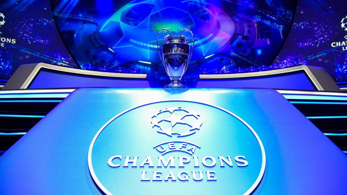 Illustration Trophy Champions League Cup