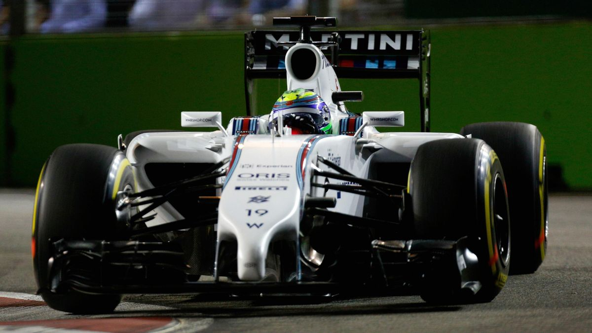 Felipe Massa (Williams) au Grand Prix de Singapour 2014