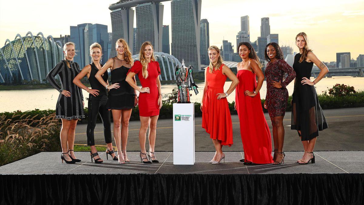 WTA Finals Singapore: Kiki Bertens, Elina Svitolina, Petra Kvitova, Caroline Wozniacki, Angelique Kerber, Naomi Osaka, Sloane Stephens, Karolina Pliskova