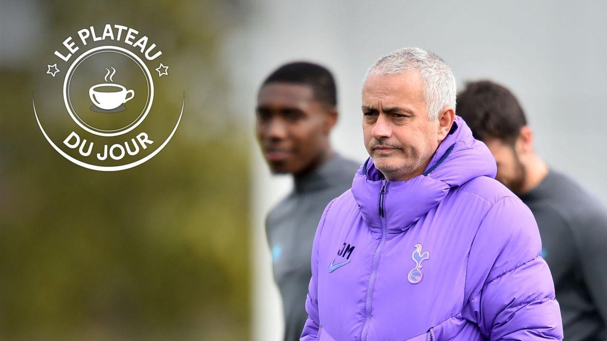 José Mourinho à la Une du plateau du 8 avril