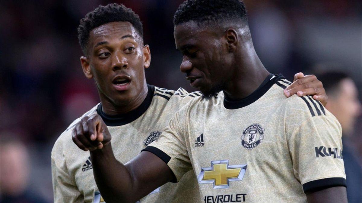 Tuanzebe and Martial