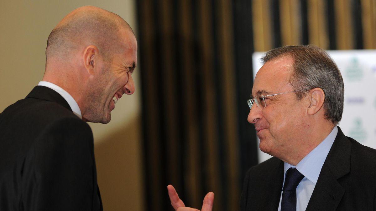 Florentino Perez, Zinedine Zidane, Real Madrid