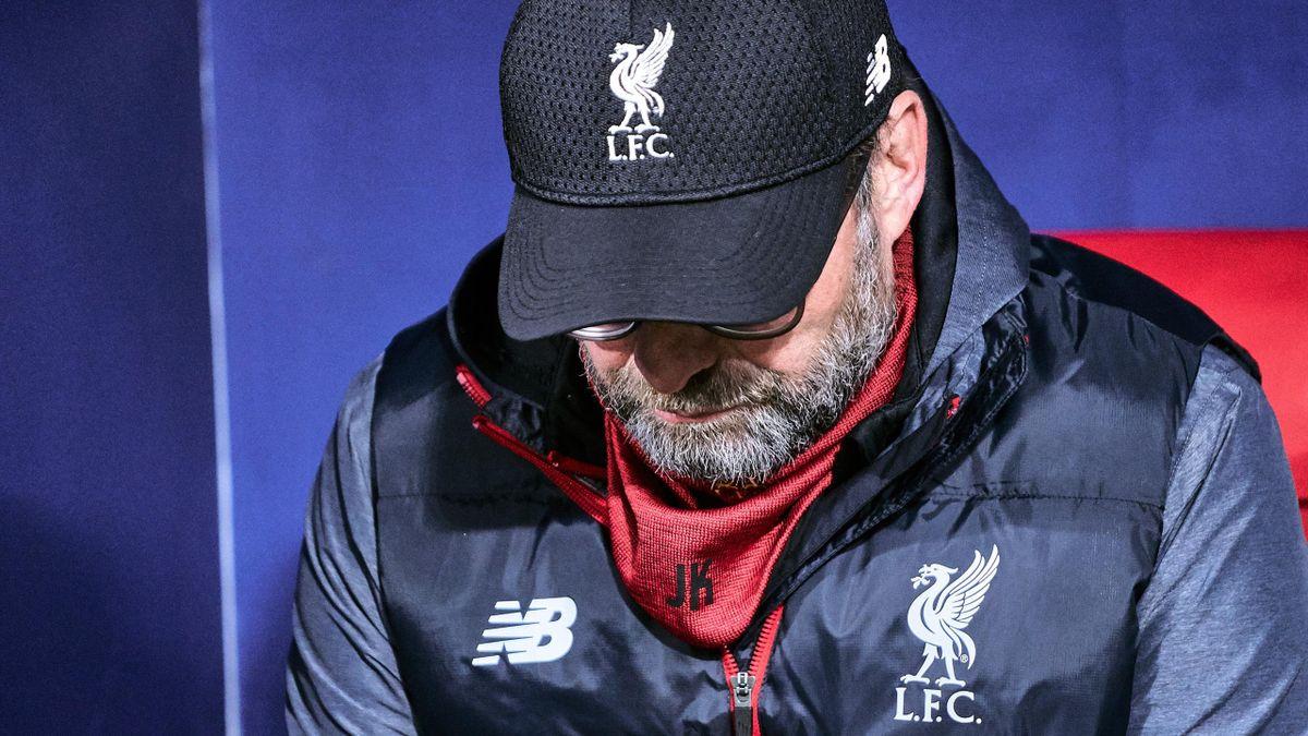 Jürgen Klopp, caché sous sa casquette de Liverpool