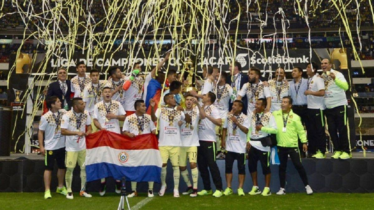 «Америка» в 7-й раз выиграла Лигу чемпионов КОНКАКАФ