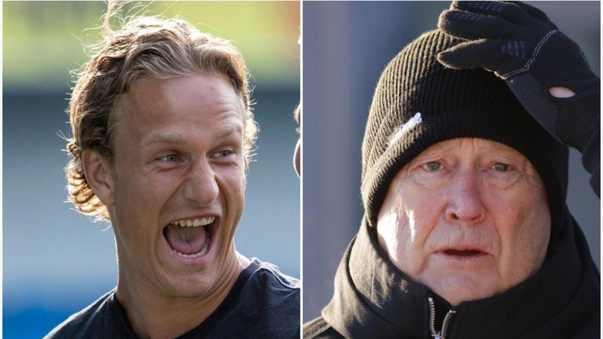Erik Botheim og Åge Hareide.