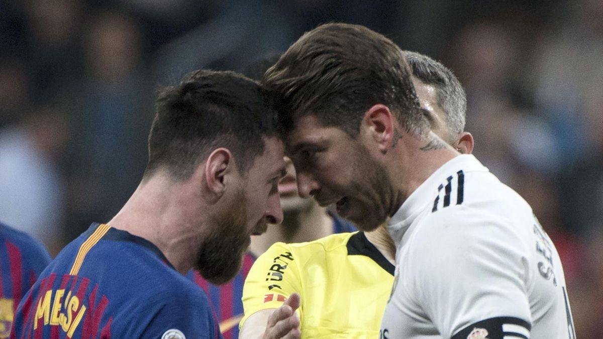 Lionel Messi et Sergio Ramos