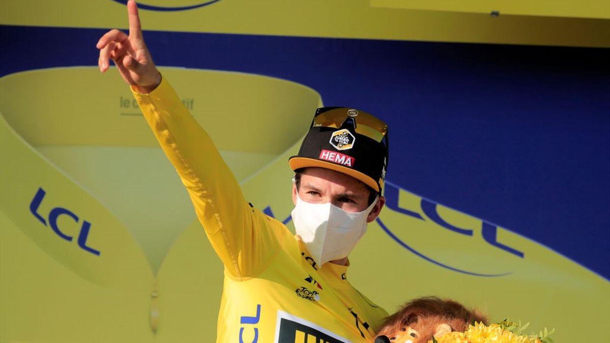Primoz Roglic - Tour de France 2020, stage 15 - Getty Images