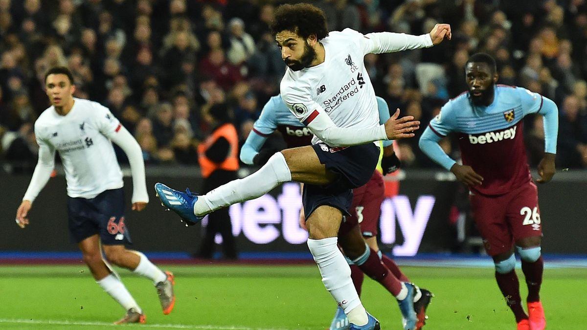 Liverpool's midfielder Mohamed Salah