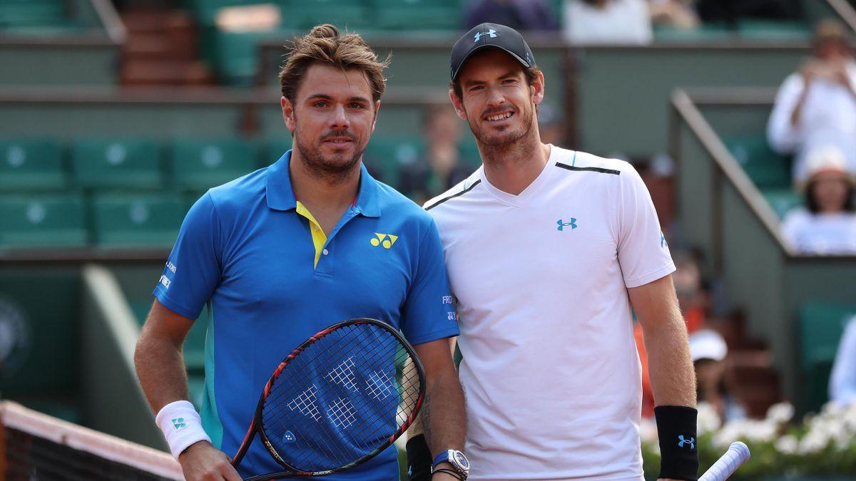 French Open Men S Draw Andy Murray Faces Stan Wawrinka In Tough Opener Eurosport