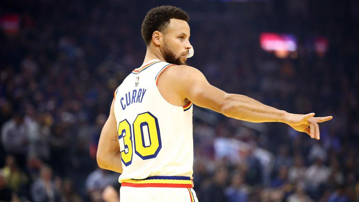 Curry verliert beim Comeback
