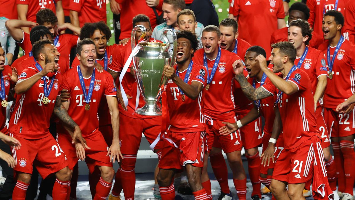Kingsley Coman Fires Bayern Munich To Champions League Glory Eurosport
