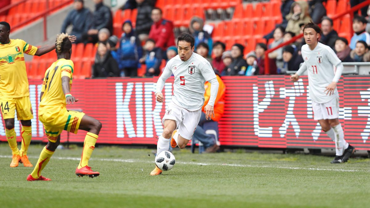 Nagatomo - Japan-Mali - International friendly match - Imago pub only in ITAxGERxSUIxAUTxHUN